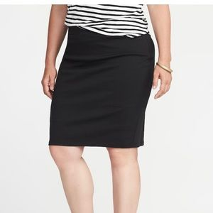 Old Navy Ponte-Knit Plus-Size Pencil Skirt, 3X
